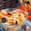 Салат с кальмаром и морковью