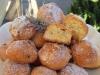 Рассыпчатое кокосовое печенье с лавандой.