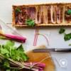 Открытый пирог с сельдереем