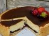 Творожный пирог с ягодным конфитюром