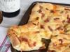 Фокачча с беконом и сыром