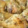 Куриные голени в сметанном маринаде.